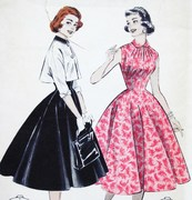 1950's Dress with Bolero jacket