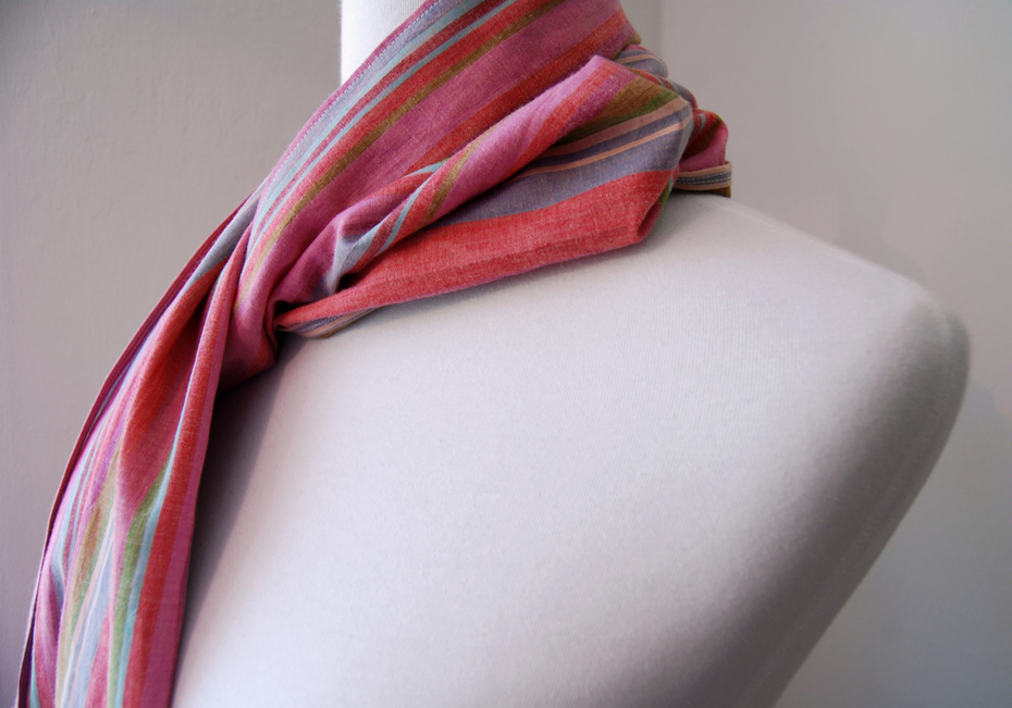 Shot Cotton Scarf