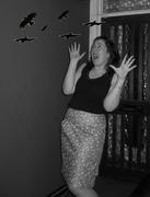 The Birds Skirt