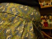 The Birds Skirt fabric