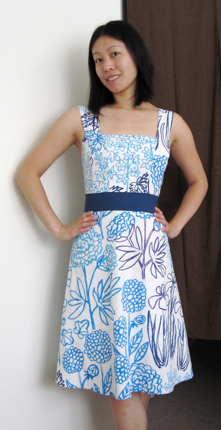 First Vintage Pattern Dress!