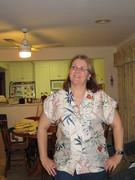 Sarah's Burda blouse 102 4/2010