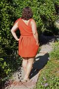Simplicity 2178 - Sassy dress back