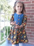 Fall Palette Birthday Dress