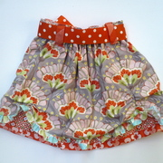 Belle Layered Skirt for Toddlers - Size 2T