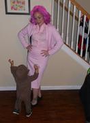 Halloween 2011, Frechy pink ladies3