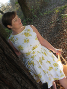 Sweet Yellow Buttercup Vintage Dress