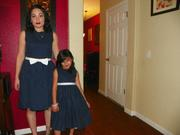 Matching Mommy Daughter Thanksgiving Dresses