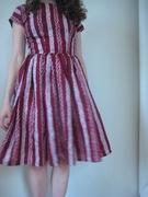 50's Batik Stripe