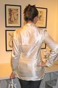 The Silk Boyfriend Shirt