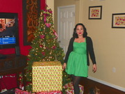 """""""The Third Time's a Charm, The Grinch Who Stole Christmas Green  Dress"""""""
