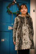 Snow leopard coat for Little Miss Ooobop!