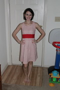 Not so warm Valentine Day dress