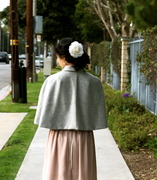 Capelet, Back View