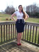 My Sailor Inspired Skirt