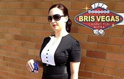 The BrisVegas Tux Dress