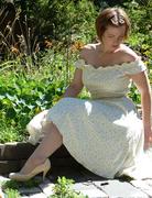 Off-the-Shoulder Floral Summer Dress