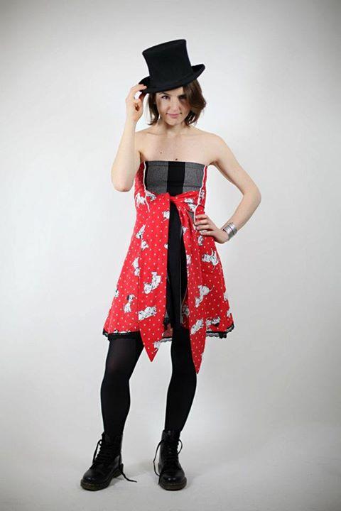 101 dalmatians Bustier dress