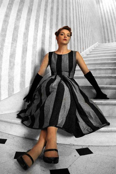 Pin-up dress, Grace Kelly style