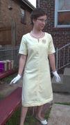 60's Style A-Line Dress