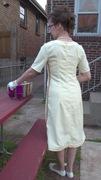 60's Style A-Line Dress - back