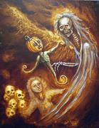 Demise of a Pumpkin by Michael Jewula