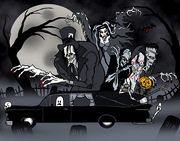Hearse Gang by Eric Pigors