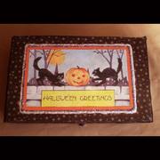 Halloween Greetings Box