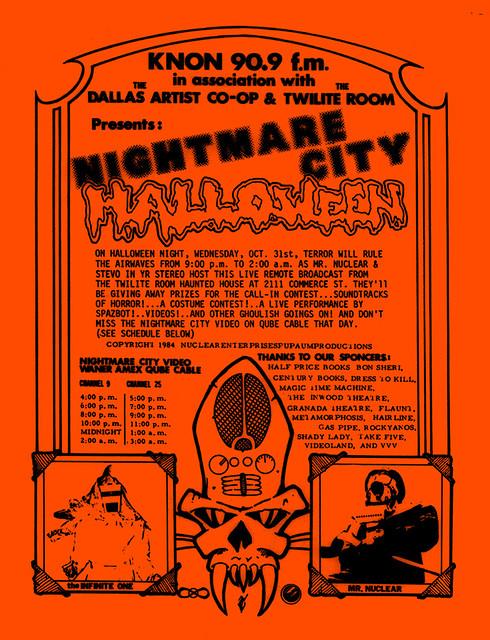 Nightmare City Halloween 1984