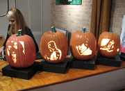Pumpkin carvings by Craig Perry