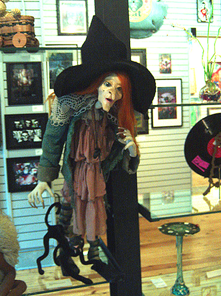 Winnie the Witch & Coco her cat by Jo Jo's Closet