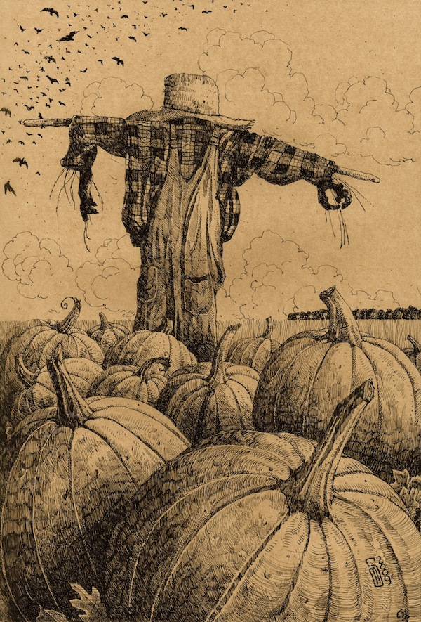 61 Pumpkin Patch Scarecrow
