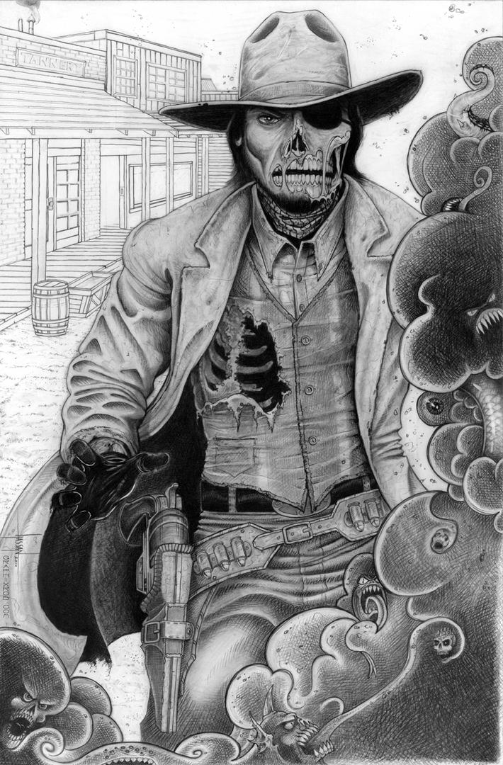 Dead Eye Zombie Cowboy