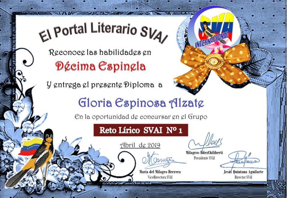 GLORIA ESPINOSA ALZATE