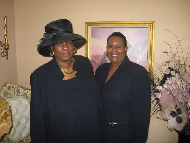 APOSTLE KAREN AND HER MOM