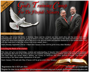 GOD'S TRAINING CAMP FOR THE FIVEFOLD MINISTRY