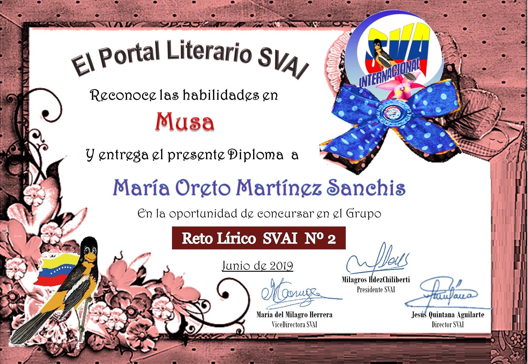 MARÍA ORETO MARTÍNEZ SANCHIS