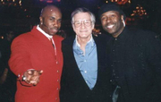 Hugh Hefner & Bowlegged Lou