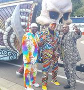 Bowlegged Lou, Joe Mazz & Paul Anthony Rockin the Gasparilla Parade in Tampa!