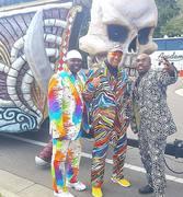 Bowlegged Lou, Joe Mazz & Paul Anthony Rockin the Gasparilla Parade in Tampa!