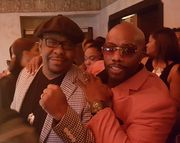 Bobby Brown and Paul Anthony