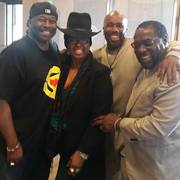 Bowlegged Lou and Paul Anthony with the legendary Betty Wright and Eddie Levert of the O'Jays!!!