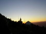 Schitul Ceahlau la apus de soare-Ceahlau oct2012 079