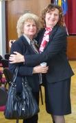 Valentina Becart şi Rodica Rodean..8 martie 2014, Iaşi
