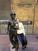 eu și Charlie Chaplin - 2015