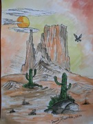 Arsita in desert