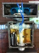 Finished boy bot wiring