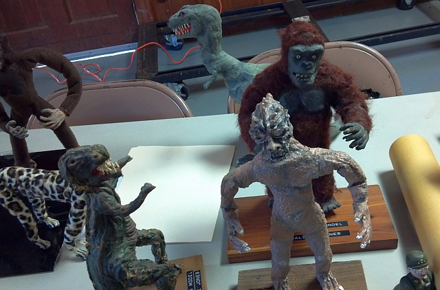 My puppets on display (2)