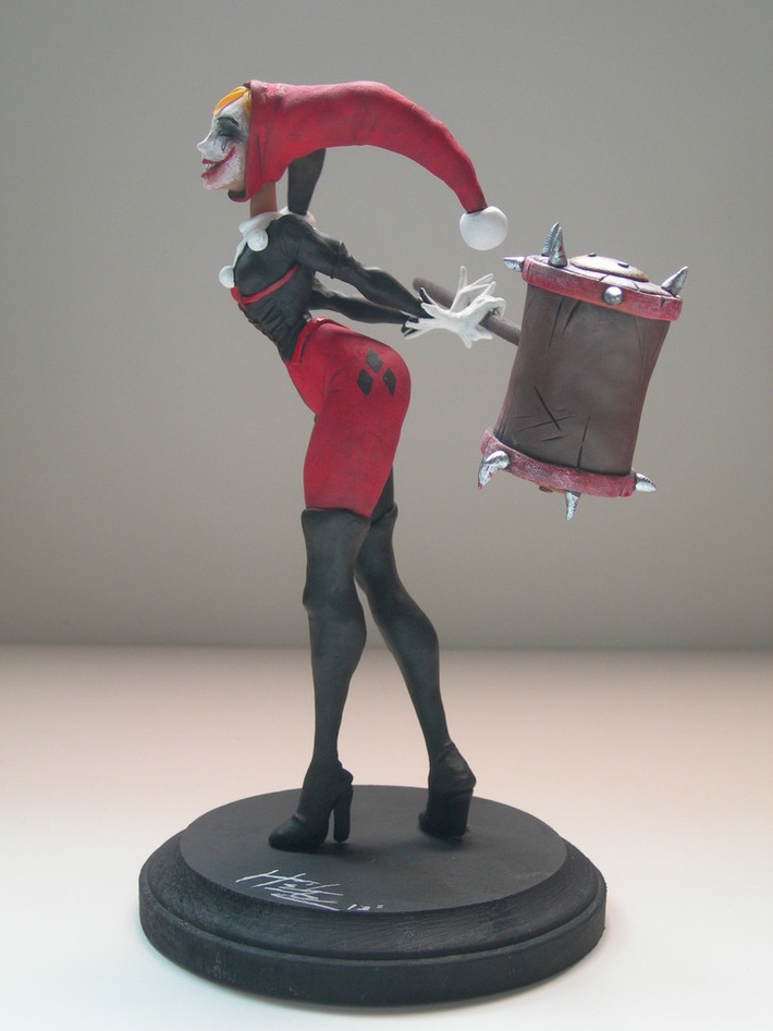 Harley sculpture sideview