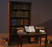The Other Raven: BookCaseTable